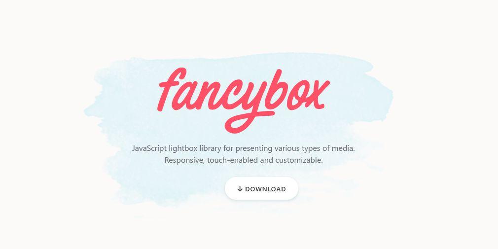 fancybox3がうまく動作しないとき